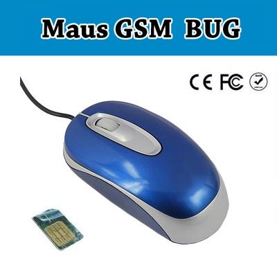 GSM Spy Bug PC MAUS - Spion - Überwachung - Abhörgerät - Minisender - Wanze