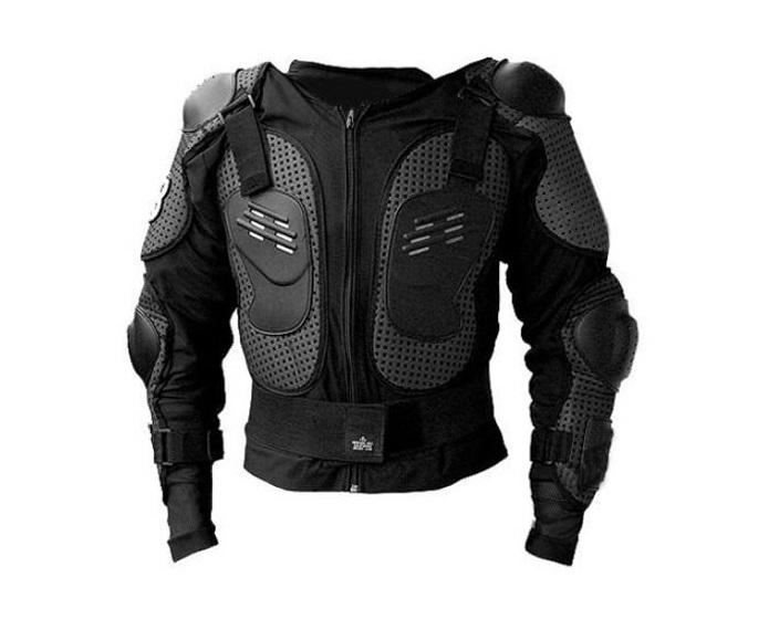 Brustpanzer Protektor Jacke Schutzausrüstung Bike Quad Motorsport - Größe M / L