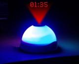 LED Wecker Sternenprojektion Stimmungslicht Nachtlicht mit Farbwechsel