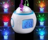 PREMIUM LED Sternenhimmel Digitaler Wecker mit 10 Melodien und Projektion