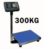 Premium 300 kg / 50 g Digital Paketwaage Industriewaage - Wiegefläche 40 x 50 cm
