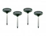 Solar Maulwurfschreck Ökologischer Maulwurfvertreiber (4-er Set)