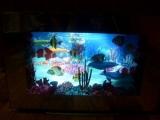 3D Aquariumleuchte mit Farb- und Lichteffekten