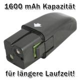 HUKITECH Ersatzakku Akku für Swivel Sweeper 1600 mAh