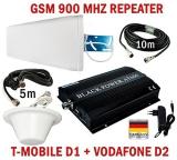 GSM Repeater Verstärker AT-600 für D1 T-MOBILE D2 Vodafone + Zubehör