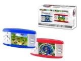 Pocket Konsole OVERMAX OV-PLAYER mit 120 integrierten Spielen + TV Ausgang ROT