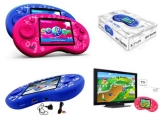Pocket Konsole OVERMAX OV-POCKETPLAYER mit 180 Spielen - PINK