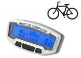 Intelligenter Fahrradcomputer - 28 Funktionen / LCD-Display / Blaue Beleuchtung