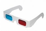 30 Stück: 3D Brille Rot / Zyan (sog. Anaglyphenbrille)