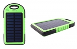 Solar Ladegerät 8000 mAh (2x USB Ports) Solarladegerät Powerbank für Handy etc.