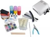 Profi Studio UV Nagel Lampe Lichthärtungsgerät - Nail Set mit viel Zubehör