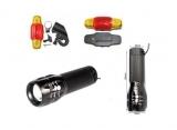 High Power Biker CREE LED Q5 ZOOM Fahrrad Beleuchtung Set - 340 Lumen