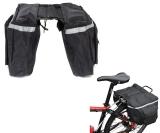 Gepäckträgertasche Fahrradtasche (37 x 33 x 26 cm) wasserabweisend