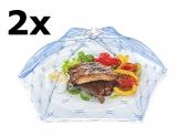 2 Stück Premium XXXL Insektenschutzhaube (58 x 58 cm) Schutz vor Fliegen