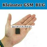 Der kleinste GSM Spy Bug der Welt - Babyphone Überwachung Abhörgerät