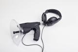 PROFI 100 m Parabolmikrofon Richtmikrofon Geräuschverstärker + Digitalspeicher