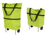 XXL Einkaufstrolley Einkaufstasche mit Rädern - faltbar wasserabweisend leicht